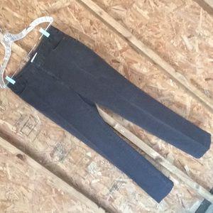 St John's Bay Dark Brown Stretch Slacks Size 6R